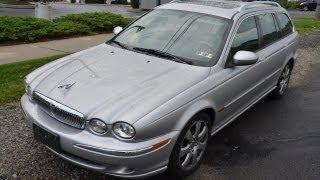 авто обзор ягуар jaguar x-type estate 2005,  ягуар универсал 2005