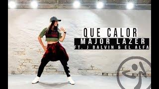 Zumba Que Calor - Major Lazer ft. J Balvin & El Alfa Choreo by Antonia Natascha