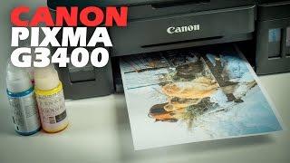 Canon PIXMA G3400: обзор МФУ