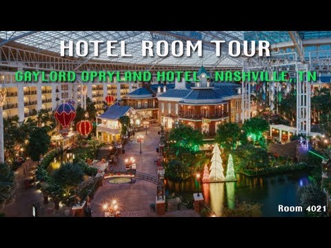 Lord Opryland Hotel Room Tour 4021 Nashville Tennessee