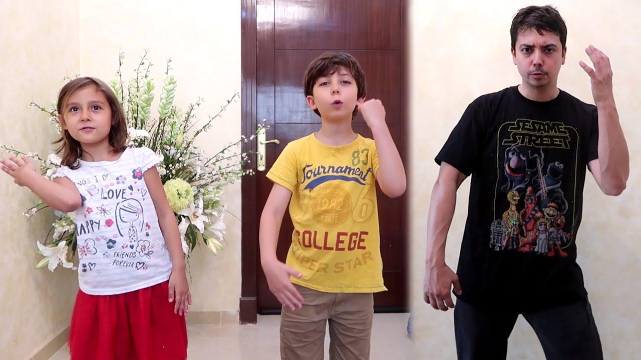 891524a9a أب يحرج أطفاله بالرقص! - YouTube