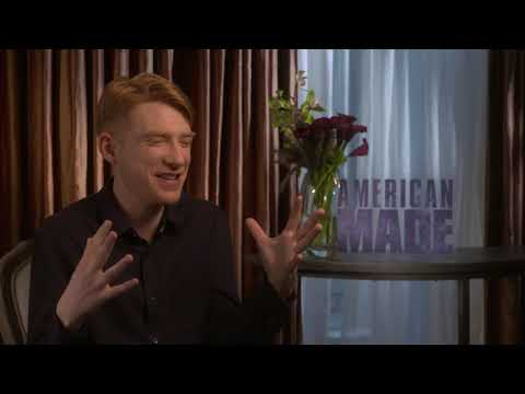 Domhnall Gleeson Busiest Guy on Screen - full Interview American Made