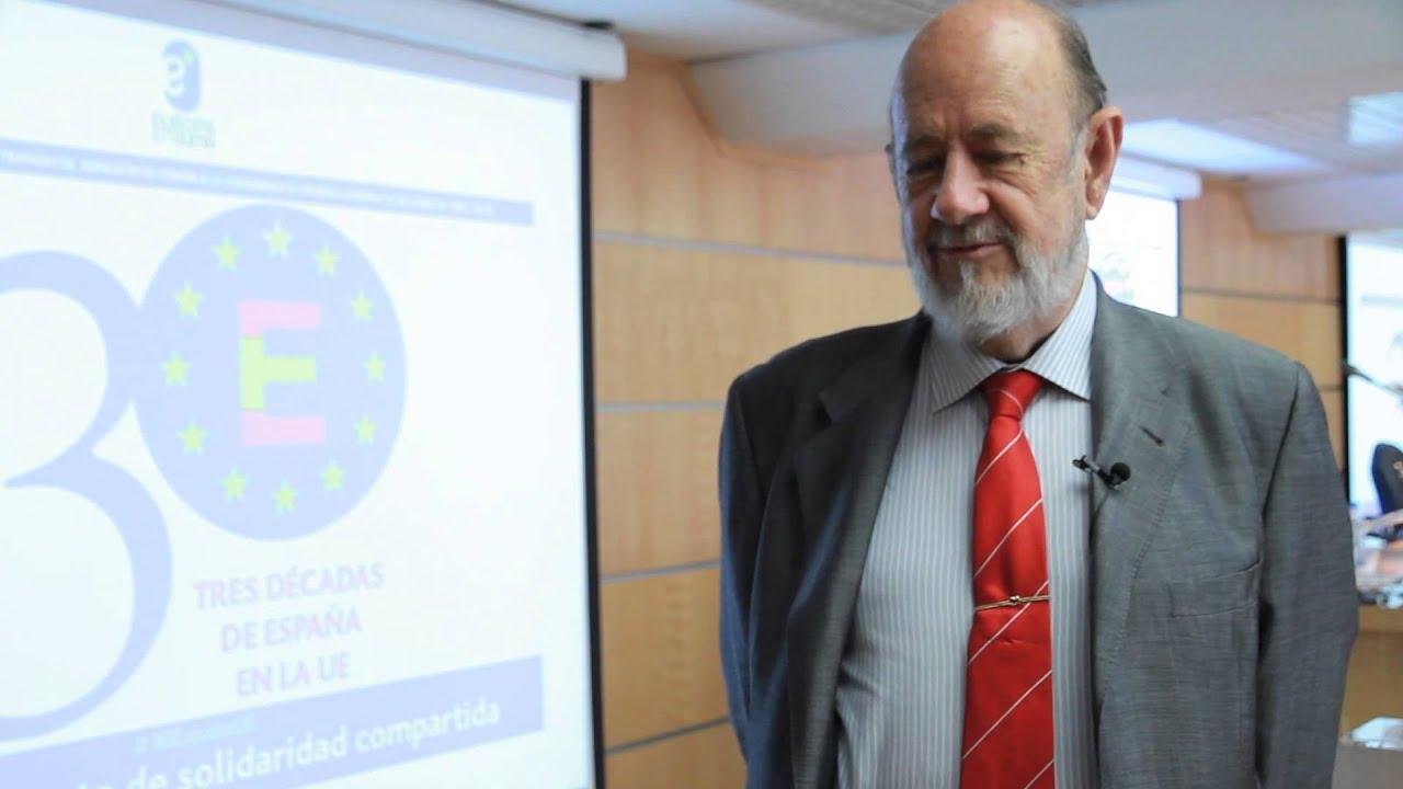 Jose María Gil Robles en 30 años de España en la UE