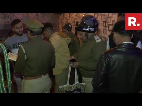 Uttar Pradesh: Police Raid Hukka Bar In Aligarh, More Than 20 Arrested
