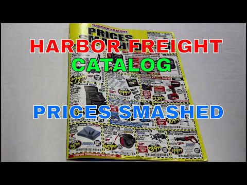 Harbor Freight Tools catalog review August 2017 prices smashed my opinions