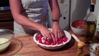 Cancer Fighting Foods: Cherry Tomato Pie; Anti-cancer Diet