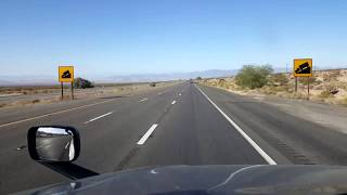 BigRigTravels LIVE! Valley Wells Rest Area to Barstow, California I-15 South-Sept. 10, 2019