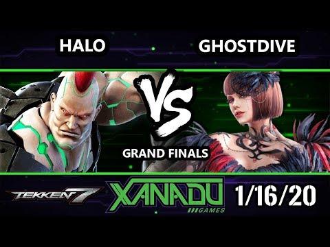 F@X 337 Tekken 7 - Ghostdive (Anna) Vs. Halo [L] (Jack) - T7 Grand Finals