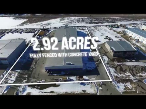 Edmonton Commercial Real Estate Aerial Video - Acheson