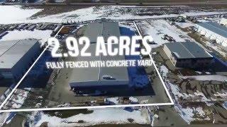 Edmonton Commercial Real Estate Aerial Video - Acheson