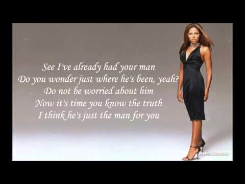 Toni Braxton - He Wasn't Man Enough Lyrics HD