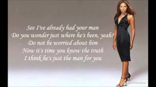 Toni Braxton - He Wasn't Man Enough Lyrics HD