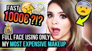 1000€ MAKEUP TUTORIAL?!? - ich schminke meinen TEUERSTEN Makeup Look! - #GLOWvember