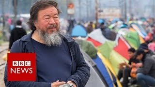 Ai Weiwei's take on the migrant crisis - BBC News