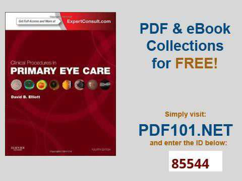 ad4afae5bf0 Clinical Procedures in Primary Eye Care Expert Consult Online and Print