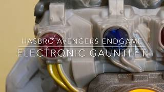 Avengers Endgame Electronic Gauntlet Review