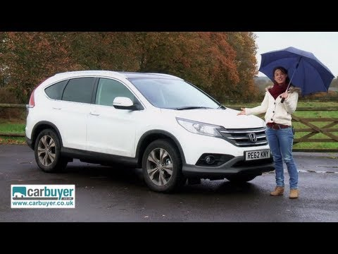 Honda CR V SUV review CarBuyer