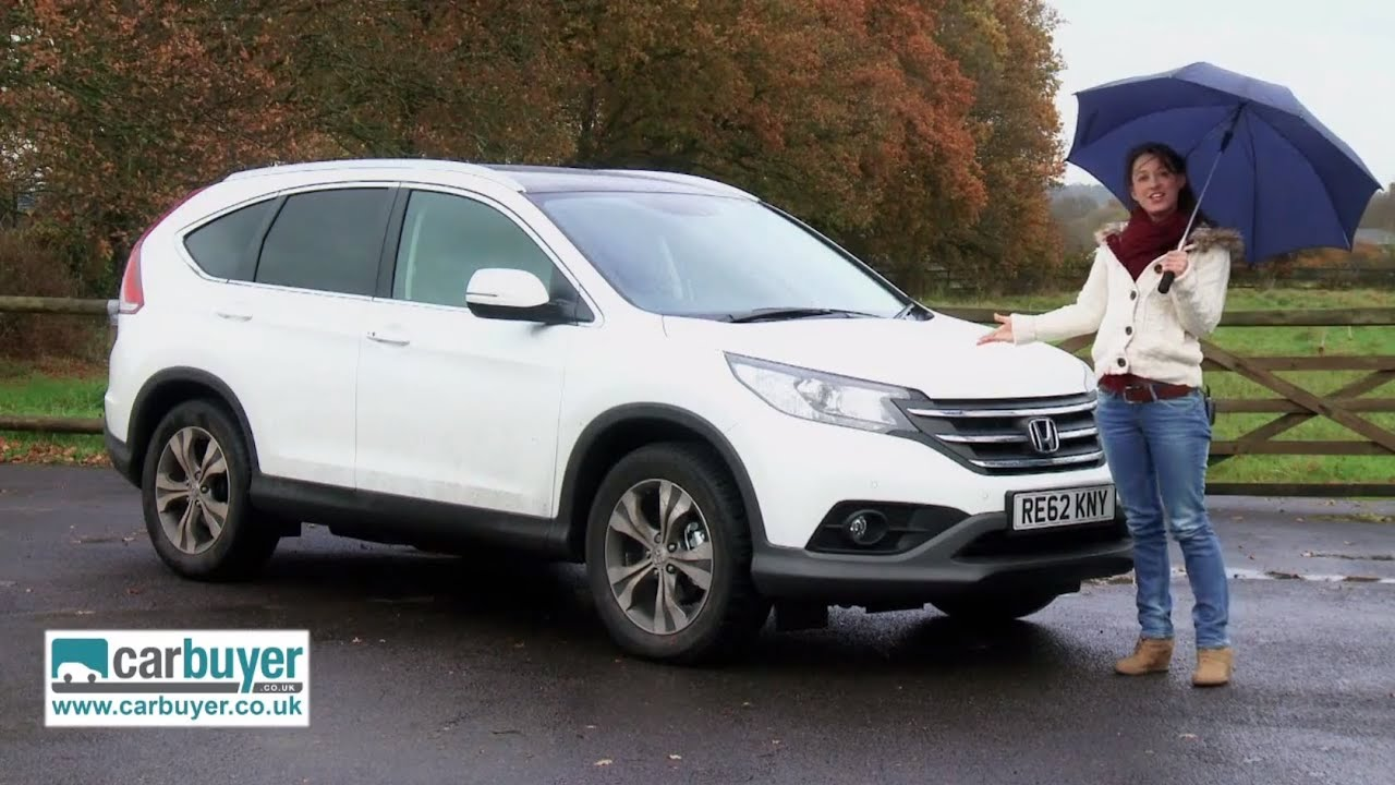 honda cr v suv review carbuyer youtube. Black Bedroom Furniture Sets. Home Design Ideas