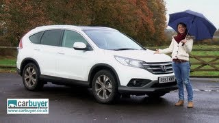 Honda CR-V SUV review - CarBuyer