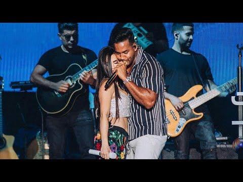 La Mejor Versión De Mi (Remix) En Vivo – Natti Natasha X Romeo Santos (Barahona RD)