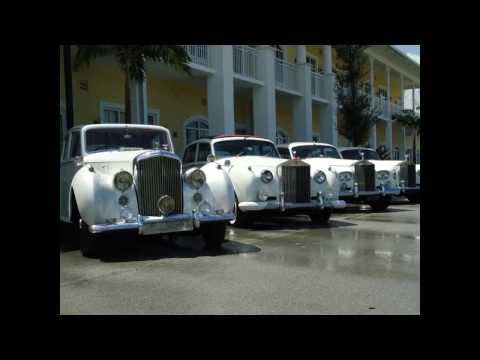 Rolls Silver SL 1961 miami weddings limos  www.milleniumlimo.com