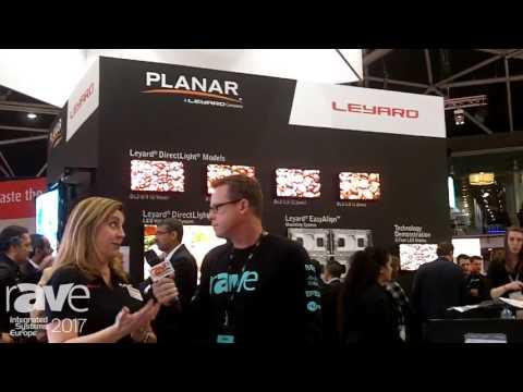 ISE 2017: Gary Kayye Interviews Jennifer Davis of Planar, a Leyard Company