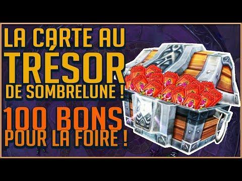 Carte Au Tresor Effacee.La Carte Au Tresor De Sombrelune 100 Bons Pour La Foire