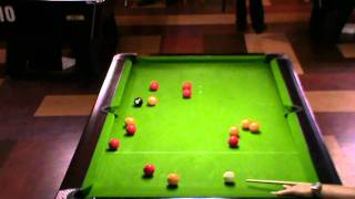 Youth final of the North West blackball tour event one (part one)