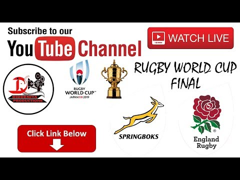 Rugby World Cup 2019 Finals HD Live South Africa Vs England #RugbyWorldCup