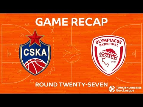 Highlights: CSKA Moscow - Olympiacos Piraeus