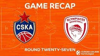 Highlights: CSKA Moscow - Olympiacos Piraeus