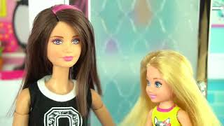 Barbie Sick Day Morning Routine in Dream House - Fun Toys for Kids