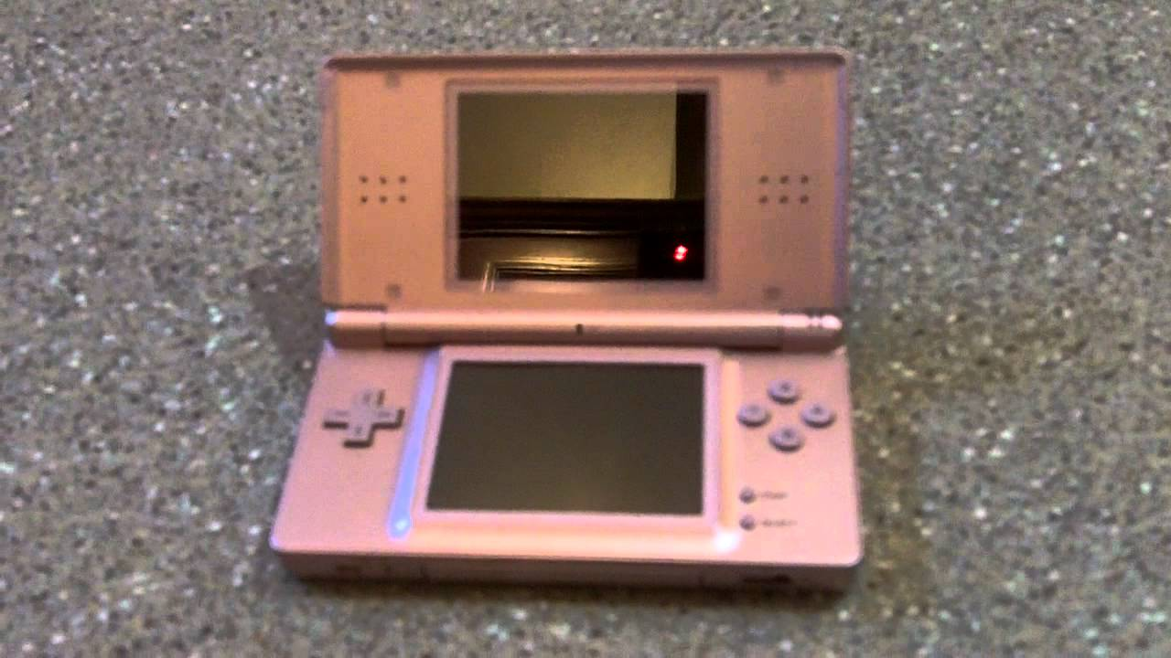 nintendo ds lite metalic rose youtube. Black Bedroom Furniture Sets. Home Design Ideas