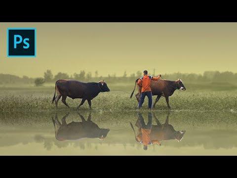 The Cowherd - Photoshop Manipulation Tutorial | Human Interest