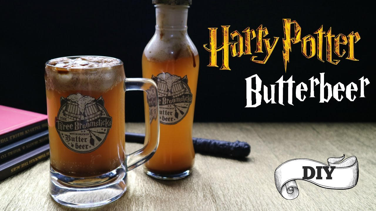 harry potter butterbeer recipe butterbeer mug diy youtube