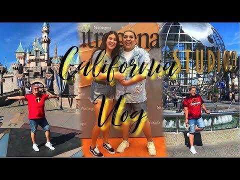 FIRST TIME IN CALIFORNIA ✨ DISNEYLAND + UNIVERSAL STUDIOS + NICOLE GUERRIERO? thumbnail