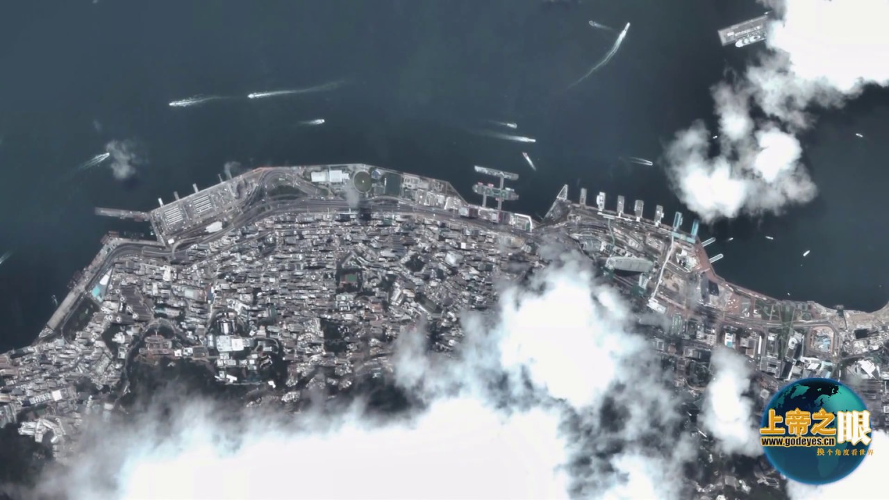 Earth Online -- real time satellite surveillance of Hong Kong