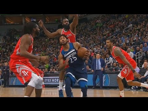 54a857dd66b Derrick Rose Turns Into MVP Derrick Rose and Schools The Rockets Players!