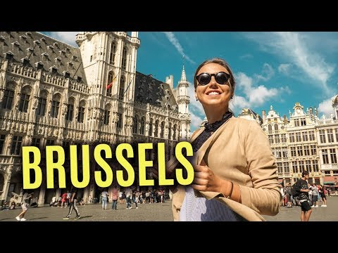 Things To Do In Brussels, Belgium. Travel Vlog. Europe Trip