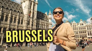 Things To Do In Brussels, Belgium. Travel Vlog. Europe Trip 2017.