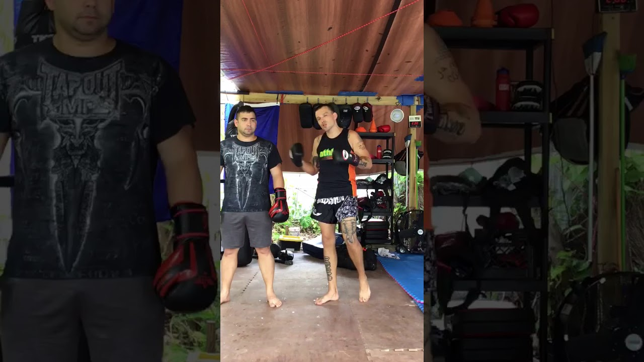 Muay thai Combos dealing with the jab- living muay thai
