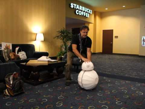 BB8 is ready to roll! - YouTube
