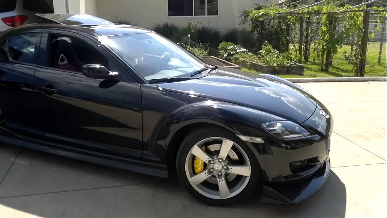 Mazda Rx 8 Saindo Da Garagem Jdm Brasil Youtube