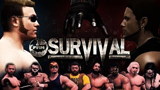 WWE 2K16 - FaM Survival