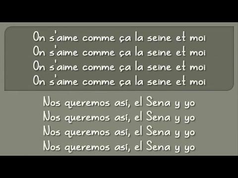 Vanessa Paradis  - La Seine CON LETRA (Español - Frances)