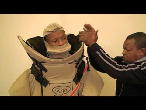 Kejo EOD Bomb Suit - YouTube