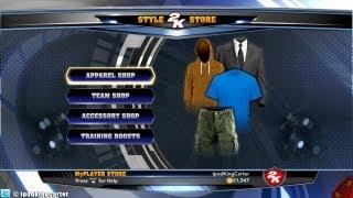 NBA 2K14 2K Store - 50K VC Shopping Spree! | I Do My Own Shopping Ladies...