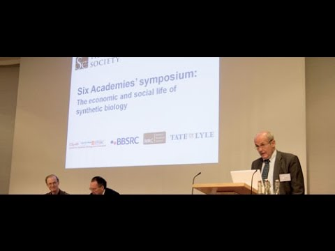 Synthetic Biology 2011- Day 1 part 1 - Royal Academy of Engineering