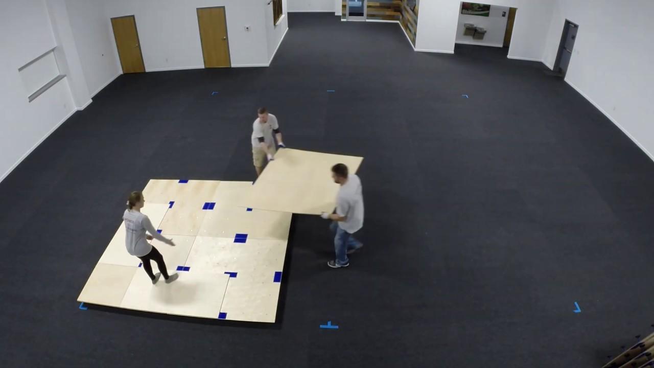 American Gym Spring Floors