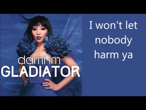 Dami Im - Gladiator - lyrics [FULL SONG]